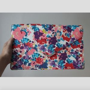 Urban Outfitters Oversized Floral Clutch